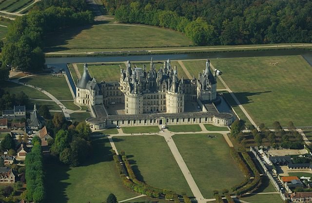 Chateau de Chambord at Chambord