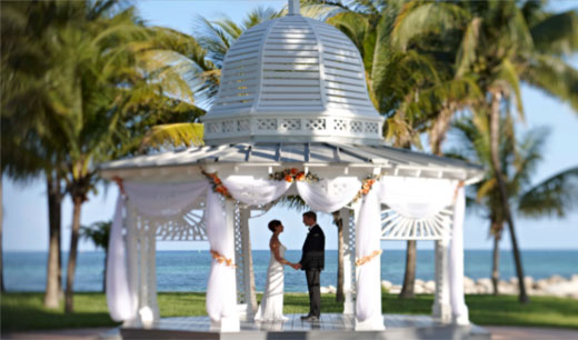 Bahamas in wedding focus