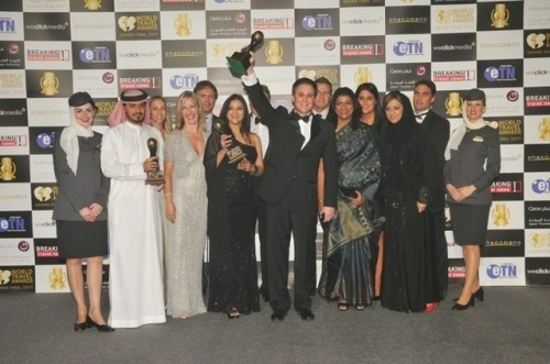 Etihad Airways leads winners a