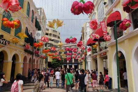 Go street struck in Macau!