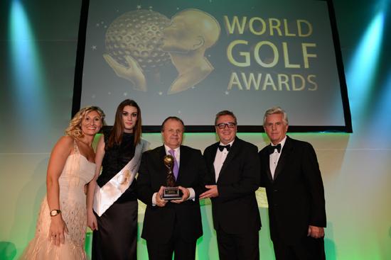 Inaugural World Golf Awards winners celebrate at Conrad Alga