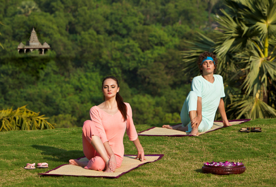 India will develop its yoga and meditati