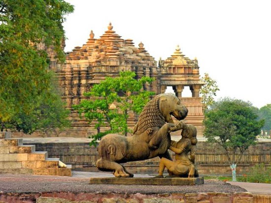 Khajuraho � The Temple of love