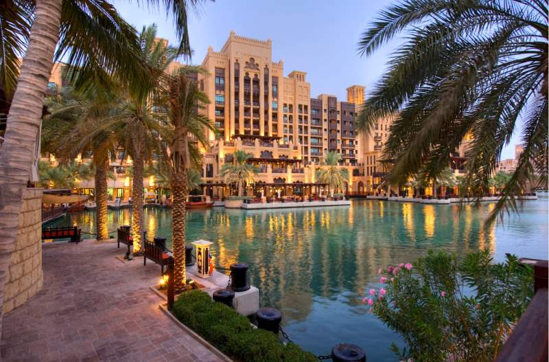 Madinat Jumeirah resort is Off