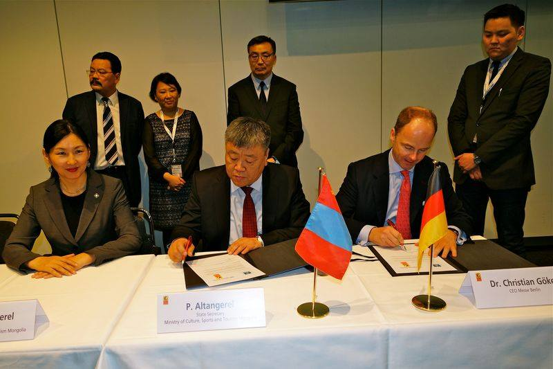 Mongolia becoming Partner Country in ITB-2015