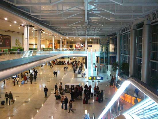 Moscow Domodedovo Airport Upgrades Servi