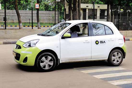 Ola and Uber start charging drivers Rs 300 per week