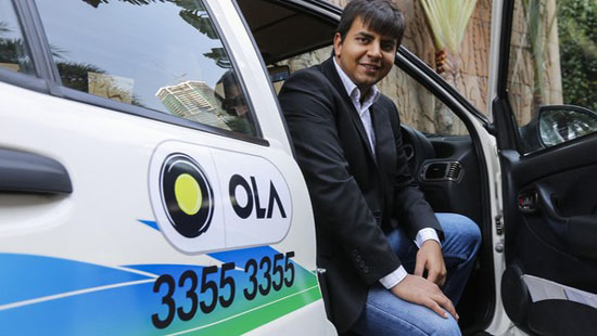 Ola to invest $75M in a cab leasing program for drivers