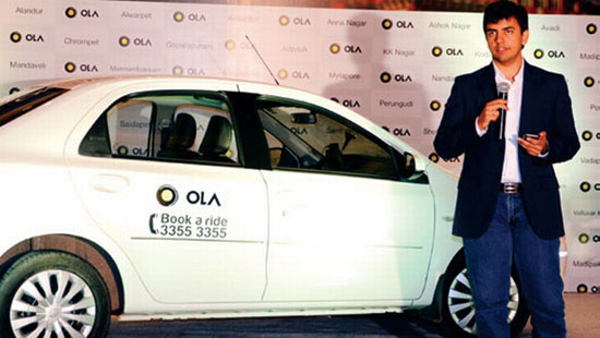 OlaCabs Raises $225M in a Fresh Round funding