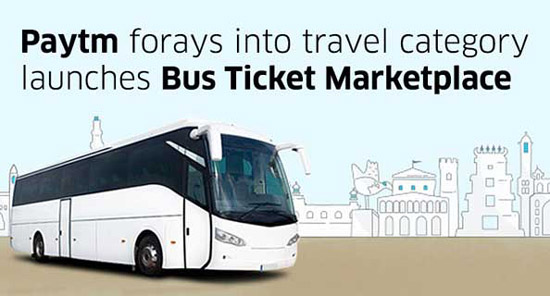 Paytm Introduces Bus Ticket Marketplace
