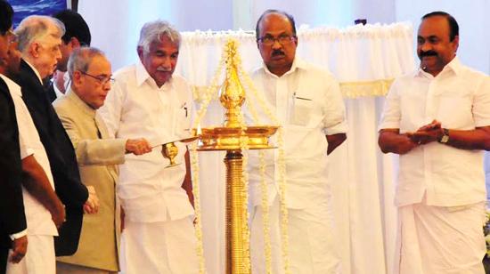 President Pranab Mukherjee launches Kerala Muziris Heritage Project