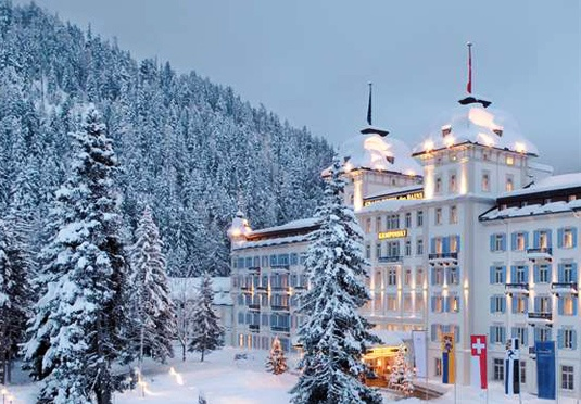 Romantic package at Kempinski Grand Hotel des Bain