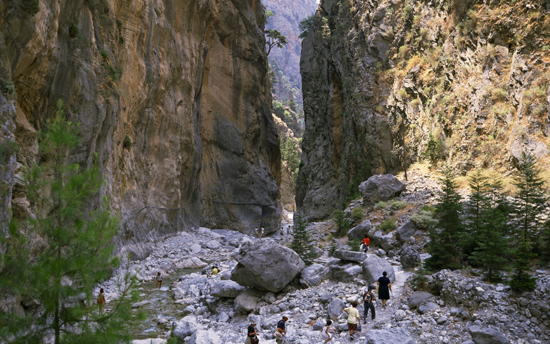 Samaria Gorge National Pa