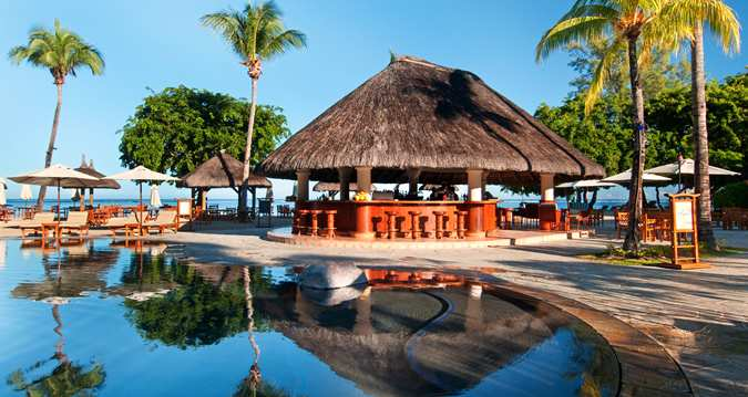 Stay at a resort in Mauritius