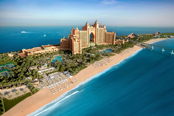 Atlantis The Palm, Dubai recei