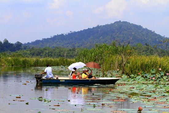 Tasik Chini lake, Malaysi