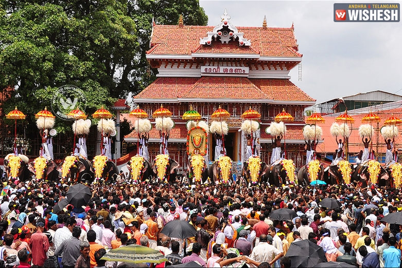Thrissur Pooram Kerala
