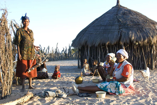 Tourists urged to boycott Botswana over treatment of Bushmen