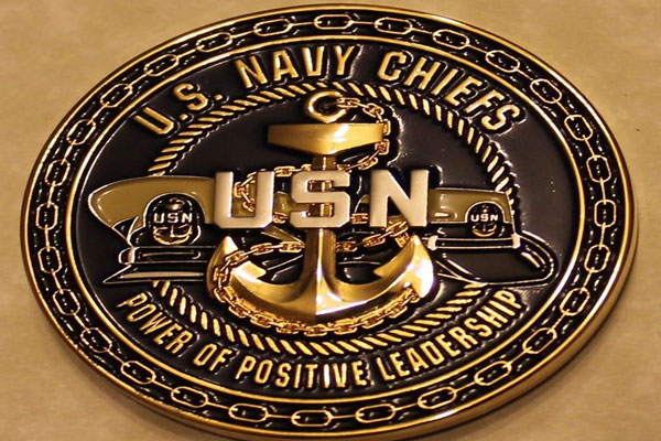 US Navy Chief Coins Honor the Backbone of the U.S Navy