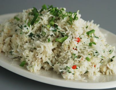 Spiced crab and coconut rice