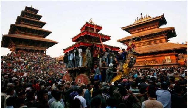 Nepali New Year (Bisket Jatra)