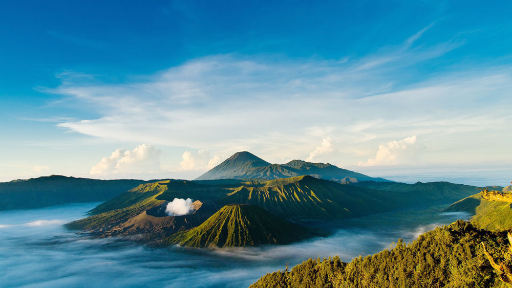 Hiking Mount Bromo, East Java