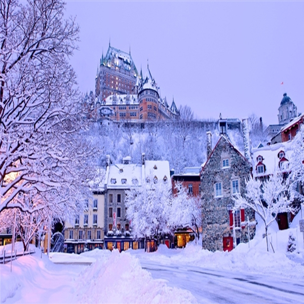 Quebec - City full of sur