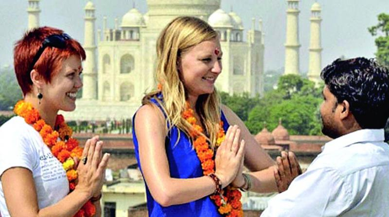 India a 'safe' tourist destina