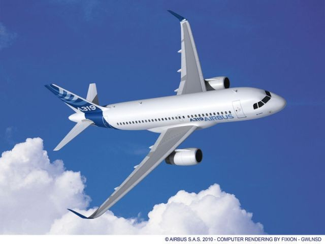 AAR completes Airbus A319-100 aircraft cabin modifications for .