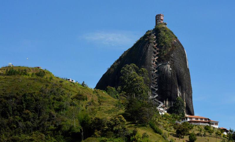 El Penon de Guatape,Colom
