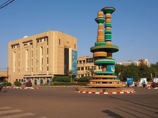 Ougadougou the capital city of Burkina Faso