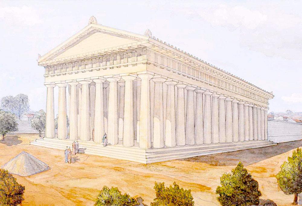 Temple of Zeus ,Libya