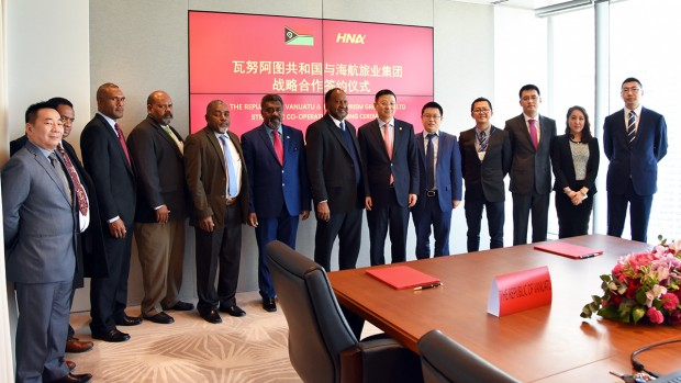 HNA to bring Chinese tourism boom to Vanuatu