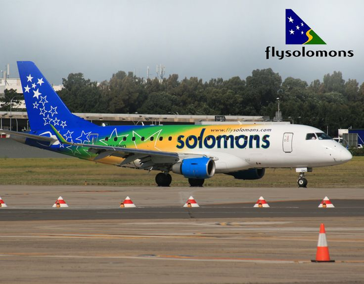 Kiribati air and Solomon airli