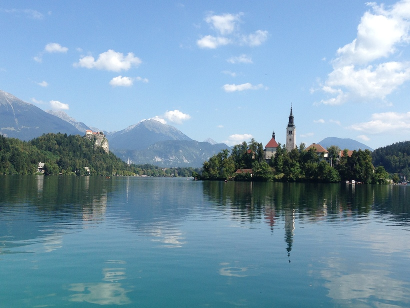 Lake Bled and Ljubljana Popular Destination in Yugoslavia