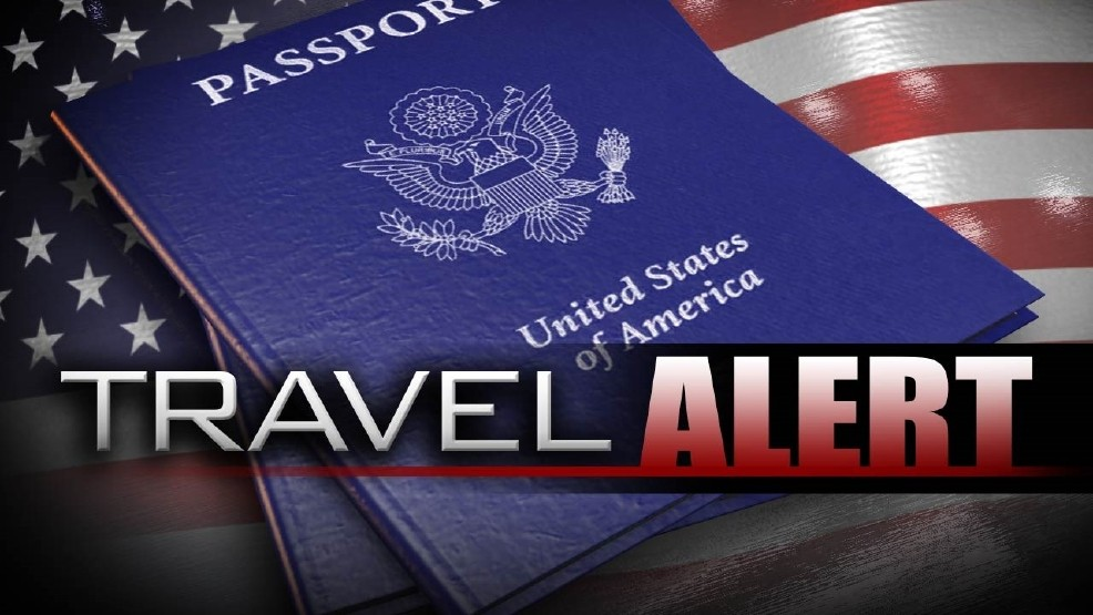 US state department proceeds travel alert for europe