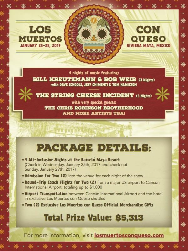 Win A Los Muertos Con Queso Travel Package