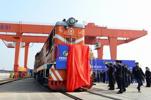 China launch first train servi