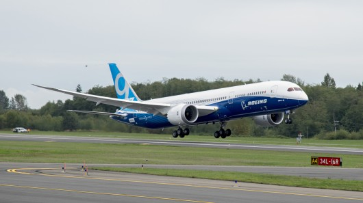 Boeing Flies Third 787-9 Dreamliner Test Flight