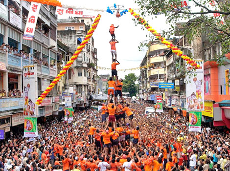 Janmashtami festival in india