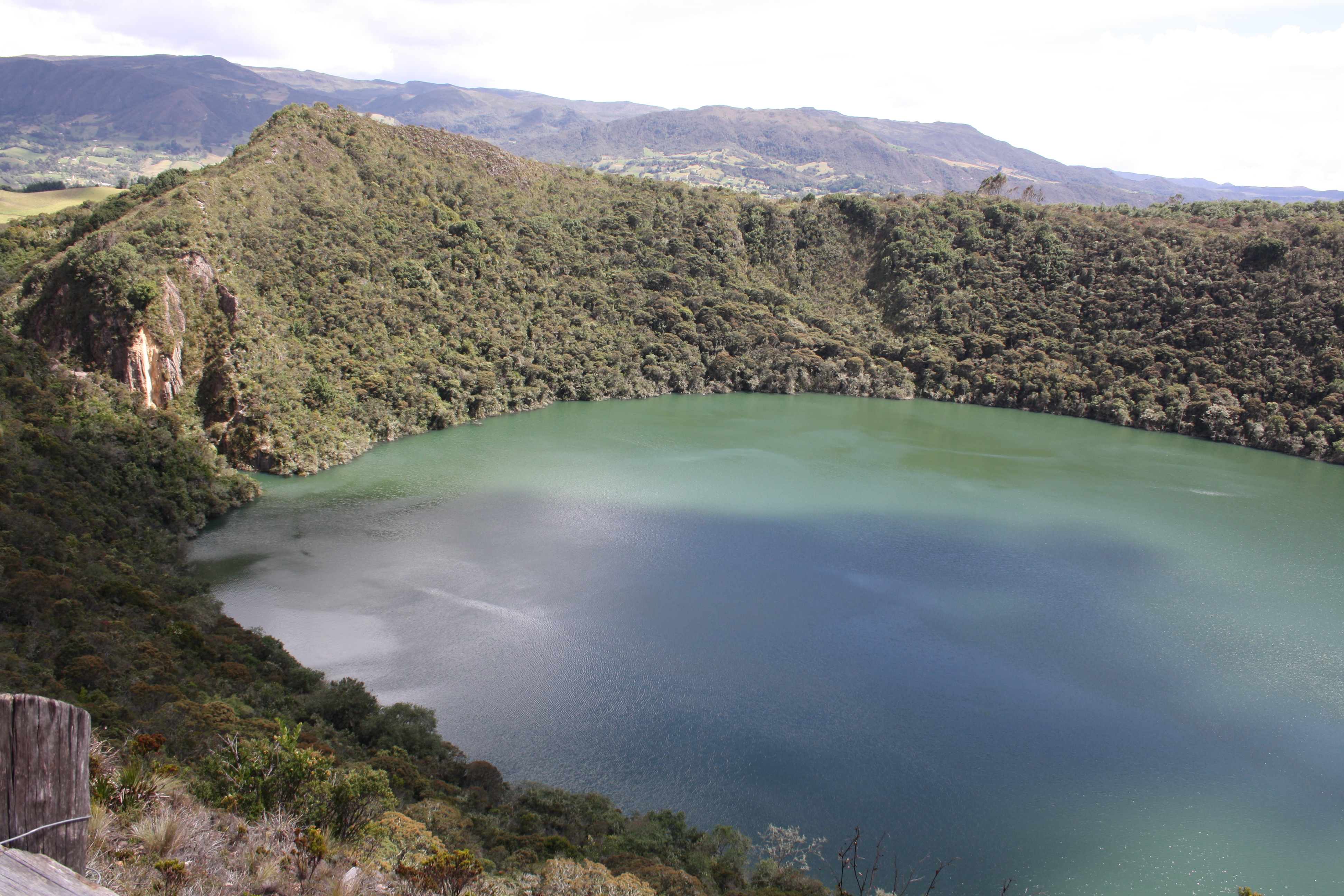 Lake Guatavita,Colombia