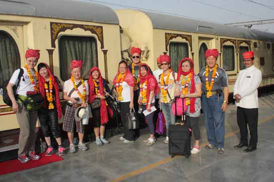 A tour of Royal Palace on Wheels Train