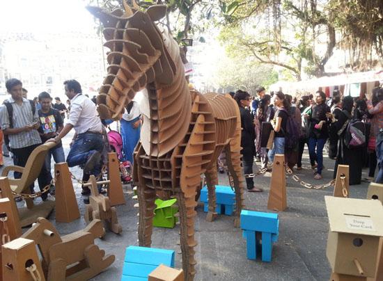 Kala Ghoda Arts Festival in Mumbai