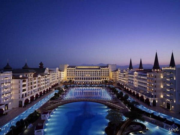 The Mardan Palace Hotel and Most Expensive - Europe