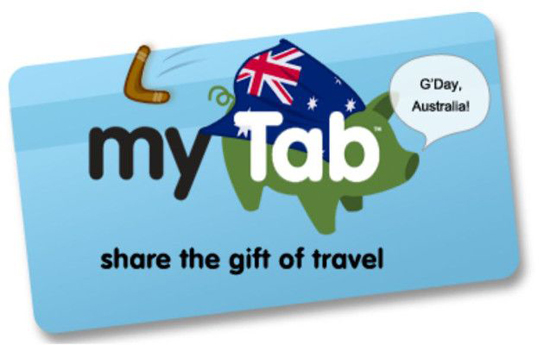 myTab travel gift card launches in Australia