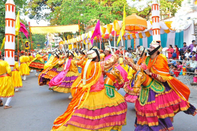 Shigmo Festival in india