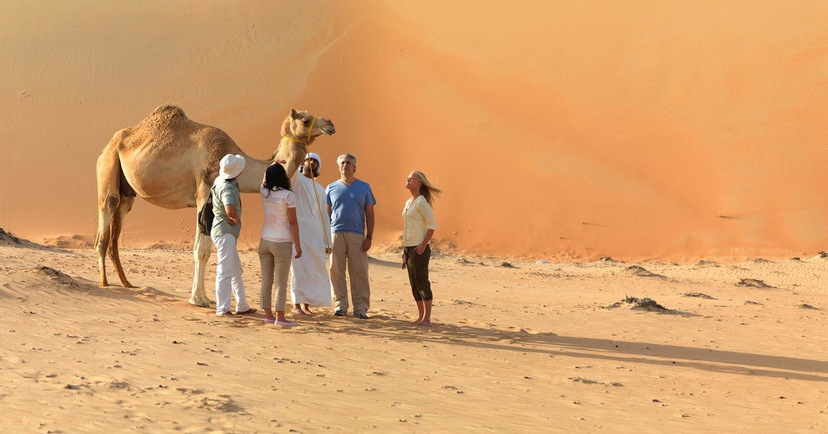 People The Travelling Across the Sahara