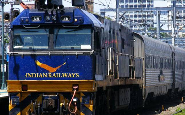 Risky Travel : Indian train travels near