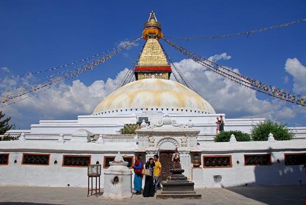 Kathmandu -Boudhanath-Stupa