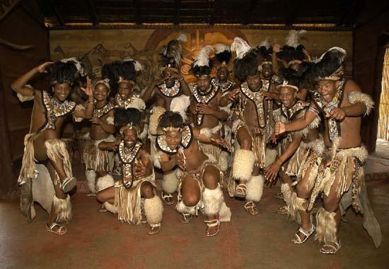 Lesedi - Zulu warriors